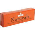 Nat Sherman Naturals King Size Box cigarettes made in USA, 4 cartons, 40 packs.