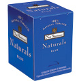 Nat Sherman Naturals Blue 101 mm cigarettes made in USA, 6 cartons, 60 packs.