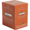 Nat Sherman Naturals Originals 101 mm cigarettes made in USA, 6 cartons, 60 packs.