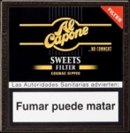 Al Capone Sweets Filtered Cigarillos made in Honduras, 30 x 10 pack, 300 total.