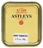 Astleys No. 109 Medium Flake Pipe Tobacco. 50g tin.