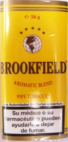 Brookfield American Blend Pipe Tobacco from Spain, 50g x 5 bags