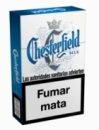 Chesterfield Classic Blue cigarettes from Spain.