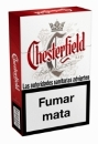 Chesterfield Classic Red cigarettes from Spain.