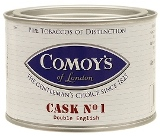 Comoys Cask No.1 pipe tobacco, 100 g tin.