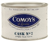 Comoys Cask No.7 pipe tobacco, 100 g tin.