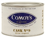 Comoys Cask No.9 pipe tobacco, 100 g tin.