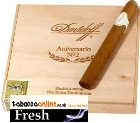 Davidoff Aniversario #2 cigars made in Dominican Republic. Box of 10.