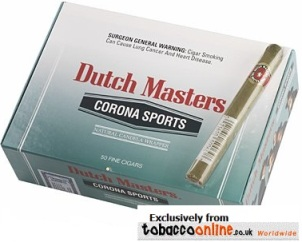 Dutch Masters Corona Sports Cigars made in USA, 2 x Box of 55. Free shipping!