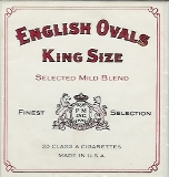 Philip Morris English Ovals Box Luxury cigarettes made in USA, 30 packs, 3 cartons. Ships free!