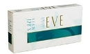 Eve 120 Slim Ultra Lights Menhol Turquoise cigarettes made in USA, 3 cartons, 30 packs. Ships free!