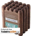 General Honduran No.37 Maduro Cigars made in Honduras. 3 x Bundles of 20. 60 total.