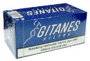 Gitanes Short Filter Cigarettes made in EU, 6 cartons, 60 packs. Free shipping!