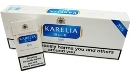 Karelia Blue 100s Box Cigarettes made in Greece, 6 cartons, 60 packs. Free shipping!