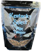 Kentucky Select Blue Pipe Tobacco made in USA. 5 x 453 g Bags, 2265 g total. Free shipping!