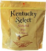 Kentucky Select Natural Pipe Tobacco made in USA. 5 x 453 g Bags, 2265 g total. Free shipping!