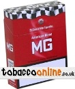 MG Red King Size cigarettes made in Greece. 6 cartons, 60 packs. Only 2.84 GBP per pack.