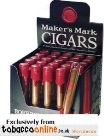 Makers Mark 538 Glass Tubes Cigars, Box of 25.