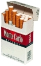 Monte Carlo King Size cigarettes made in EU. 6 cartons, 60 packs. Free shipping!