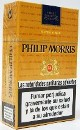 Philip Morris King Box cigarettes from Spain