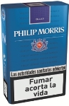 Philip Morris Blues King Box cigarettes. 1 carton, 10 packs.