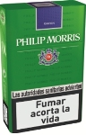Philip Morris Green King Box cigarettes. 1 carton, 10 packs.