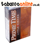 Prime Time Little Rum cigars made in USA. 80 packs x 20 Cigars. 8 cartons total.