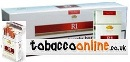 6 cartons of R1 Red King Box cigarettes made in Germany, 6 cartons, 60 packs. Free Shipping!