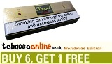 Raquel Gold Classic King Size cigarettes made in EU, 6 cartons, 60 packs + 1 Free carton!