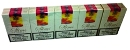 Raquel Slims cigarettes made in Greece, 6 cartons, 60 packs. Only 33.49 GBP per carton!