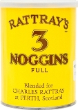 Rattrays 3 Noggins pipe tobacco made in UK. 100 g tin. Free shipping!