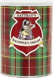 Rattrays Bagpipers Dream pipe tobacco made in UK. 100 g tin. Free shipping!