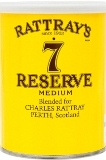 Rattrays No.7 Reserve pipe tobacco made in UK. 100 g tin. Free shipping!