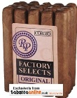 Rocky Patel Factory Selects Original Robusto Cigars, 2 x Bundle of 20.