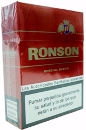 Ronson 25s Red cigarettes from Spain.