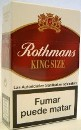 Rothmans Red cigarettes from Spain. Compare to 89.90 GBP Tesco price!