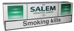 Salem Light Menthol Cigarettes made in EU. 6 cartons, 60 packs. Free shipping!