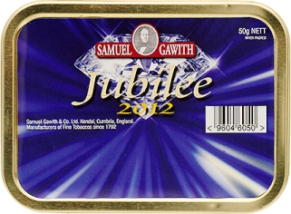 Samuel Gawith Jubilee 2012 Tinned Pipe Tobacco. 50 g tin. Free shipping!