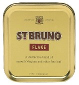 St. Bruno Flake Pipe Tobacco, 50 g tin. Free shipping!