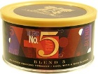Sutliff Private Stock Blend No.5 pipe tobacco, 42 g tin.