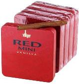 Villiger Red Vanilla cigars made in Switzerland, 20 x 5 Pack. Free shipping!