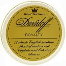 Davidoff Royalty Pipe Tobacco. 50g tin.