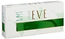 Eve 120 Slim Lights Menthol Emerald cigarettes made in USA,  3 cartons, 30 packs. Free shipping!