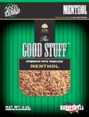 Good Stuff Menthol Tobacco made in USA, 3 x 16 oz bags + 1 Free 16oz Bag! 1814g total.