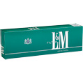 L&M Menthol Box cigarettes made in USA, 5 cartons, 50 packs. Free shipping!