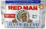 Red Man Silver Blend Chewing Tobacco made in USA, 10 x 85 g pouches, 850 g total. Free shipping!