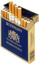 Rothmans International Box Cigarettes made in UK, 6 cartons, 60 packs. Free shipping!